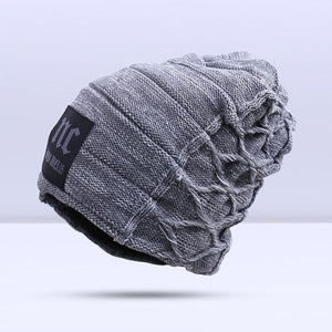Omnisex Warm Hipster Beanie-vibes.berlin-B Gray-vibes.berlin