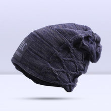Load image into Gallery viewer, Omnisex Warm Hipster Beanie-vibes.berlin-B Navy-vibes.berlin