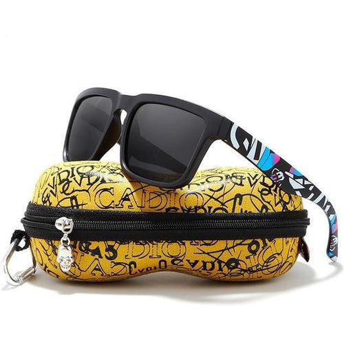 Eye-Catching Polarized Sunglasses with Case - vibes.berlin