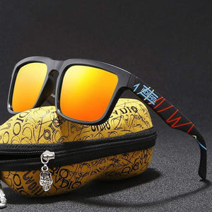 Timeless Omnisex Polarized Steampunk Goggles with Skull Peanut Case-vibes.berlin-vibes.berlin