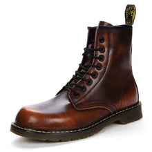 Load image into Gallery viewer, Genuine Leather Hipster Boots-vancat-vibes.berlin-brown-38-vibes.berlin