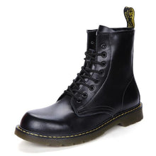 Load image into Gallery viewer, Genuine Leather Hipster Boots-vancat-vibes.berlin-black-38-vibes.berlin