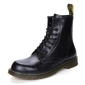 Genuine Leather Hipster Boots-vancat-vibes.berlin-black-38-vibes.berlin