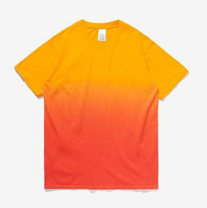 Printed Gradation Omnisex T-Shirt-inflation-vibes.berlin-gold orange-M-vibes.berlin