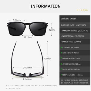 Omnisex-Fit Design Polarized Sunglasses - vibes.berlin