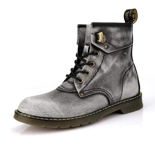 Genuine Leather Urban Boots