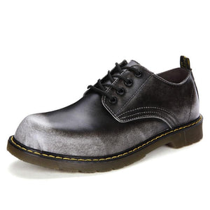Genuine Leather Oxford Shoes