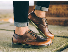 Load image into Gallery viewer, Genuine Leather Oxford Shoes