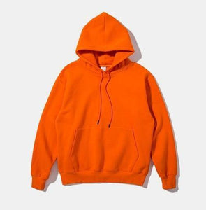 Acid Fleece Hooded Omnisex Sweatshirt