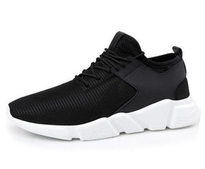 Athleisure Omnisex Flywire Sneakers-vibes.berlin-black white-38-vibes.berlin