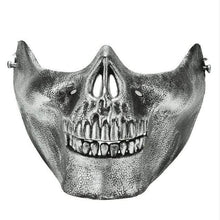 Load image into Gallery viewer, Skeleton Half Face Mask Halloween Party - vibesberlin1