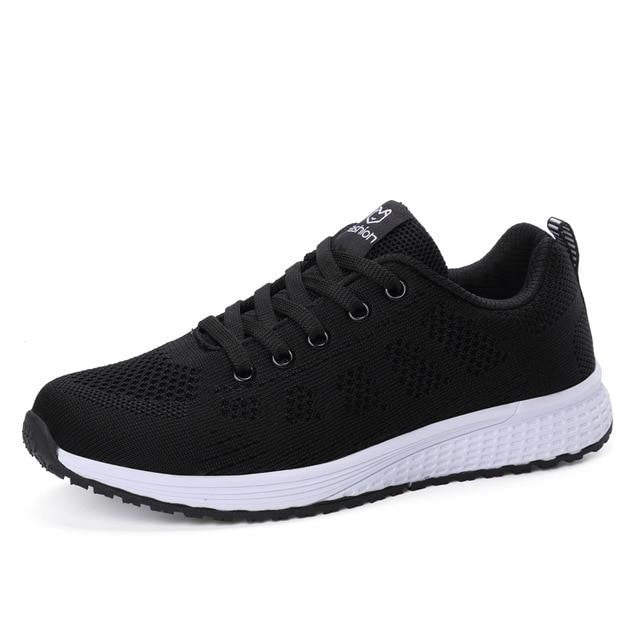 Athleisure Light Flywire Sneakers-vibes.berlin-black-41-vibes.berlin