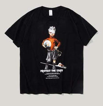 Load image into Gallery viewer, Streetwear Printed Protect The Earth Omnisex T-Shirt - vibesberlin1