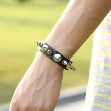 Load image into Gallery viewer, Omnisex Genuine Leather Handmade Bracelet