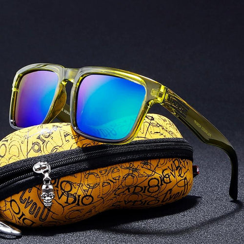 Polarized Summer Trendy Sunglasses with Reflective Coating - vibes.berlin