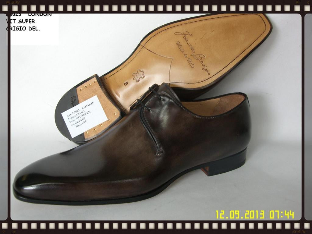 Woody Wilson Shoes Chocolate Lace-up