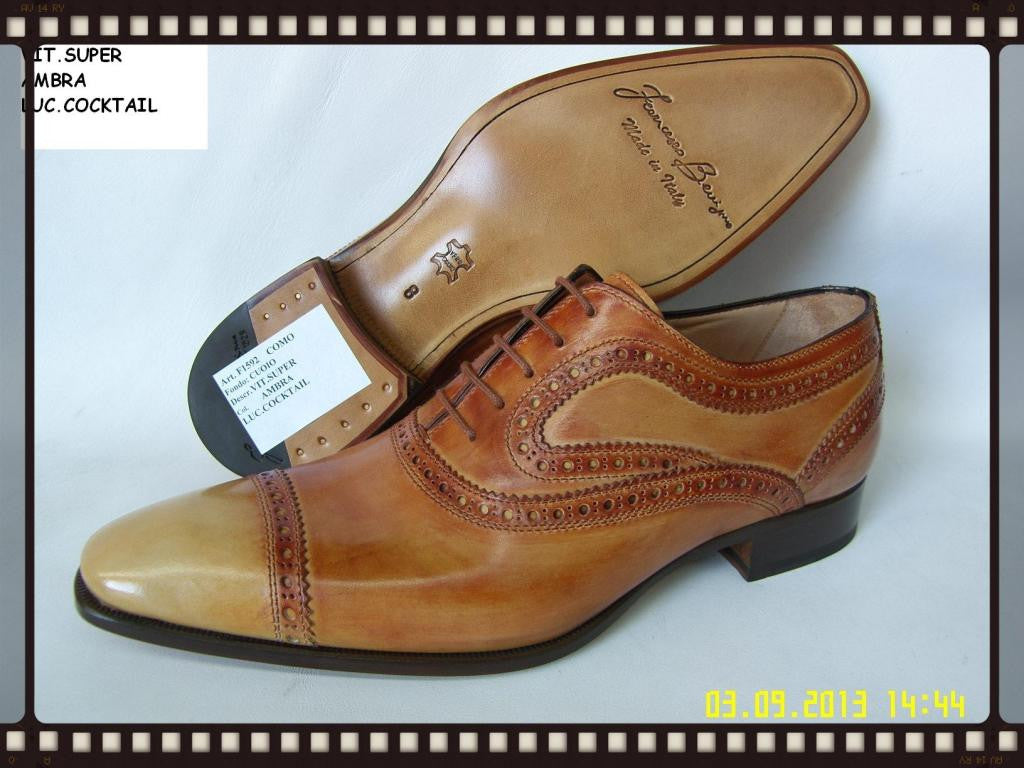 Woody Wilson Shoes/Como- Amber Lace up