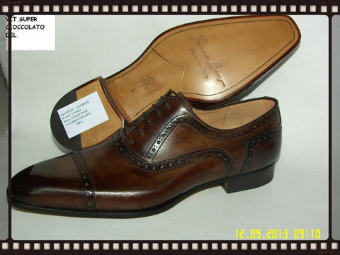 Woody Wilson Shoes Cross Toe Chocolate London