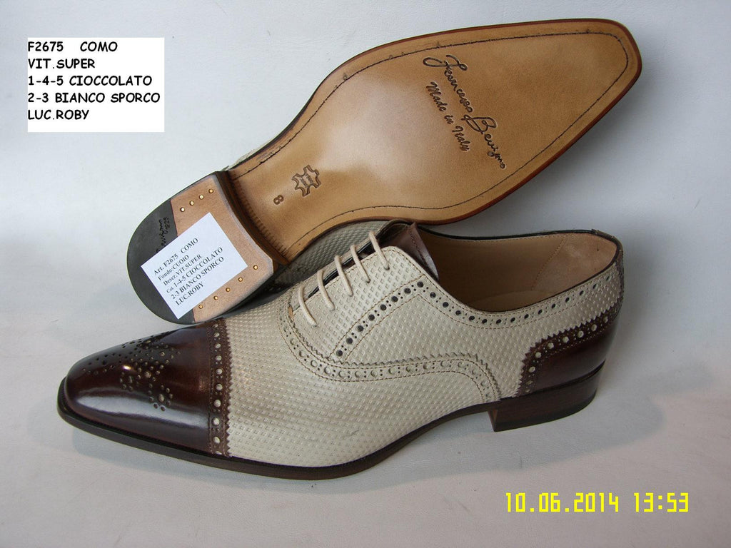 Woody Wilson Shoes Cioccolato Wingtip