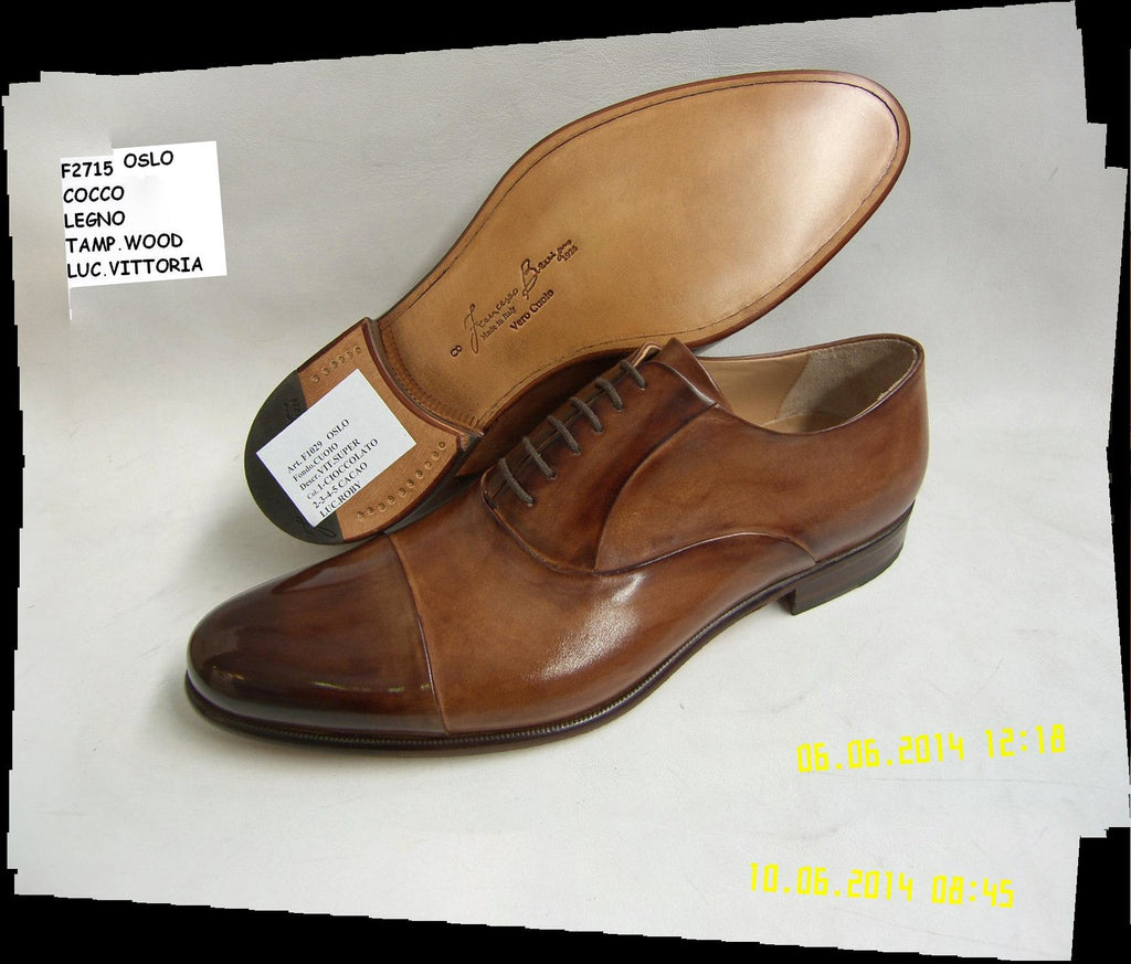 Woody Wilson Two Tone Brown & Tan Lace Up
