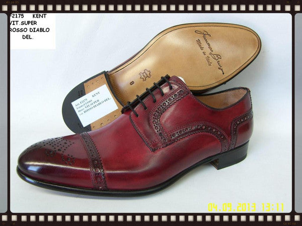 Woody Wilson Shoes/ Cross Toe Wingtip Rose Kent