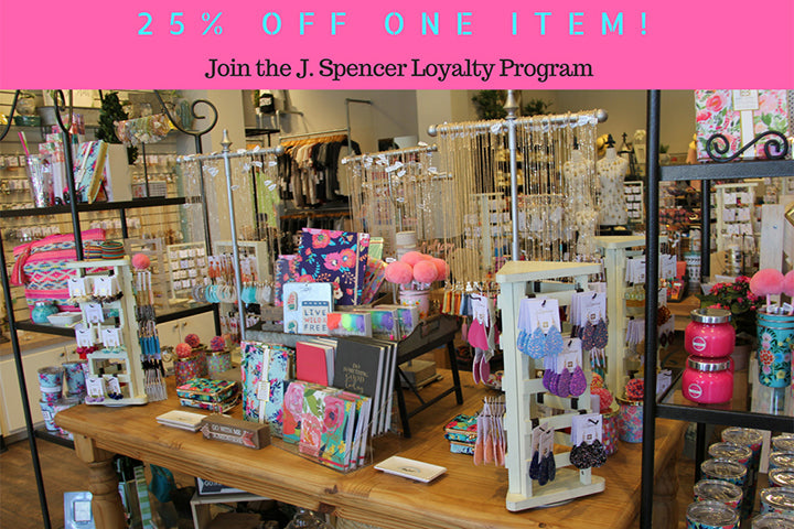 All Loyalty Customers 25% Off 1 Item – J  Spencer