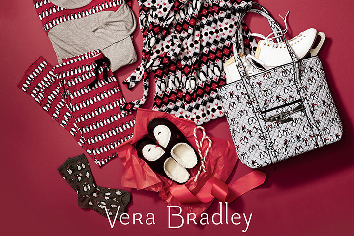 169648fb2598 Get holiday inspired with the newest release from Vera Bradley.