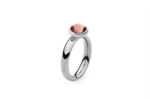 Qudo Stainless Sm Ring with Canino Top