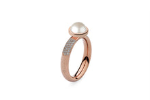 Qudo Rose Gold Deluxe Ring with Canino Top