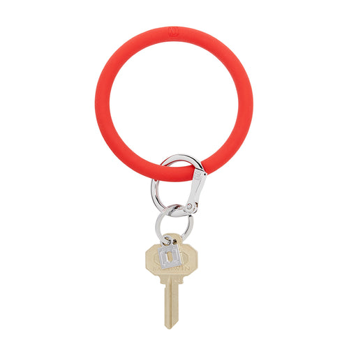 Big O Silicone Key Ring: Cherry on Top