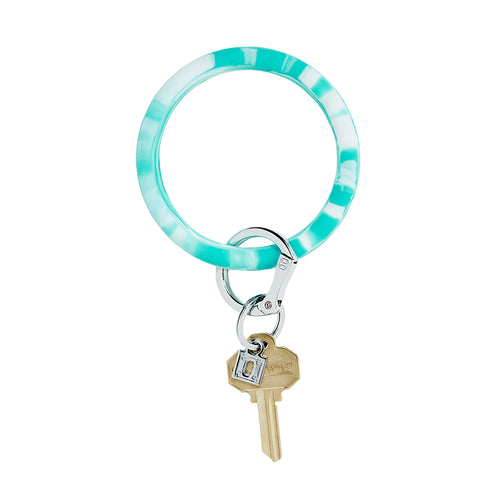 Big O Silicone Key Ring: In the Pool Marble