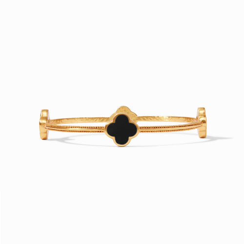 Julie Vos Chloe Bangle Obsidian Black