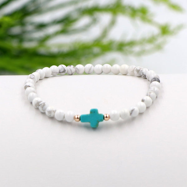 Coastal Cross Bracelet