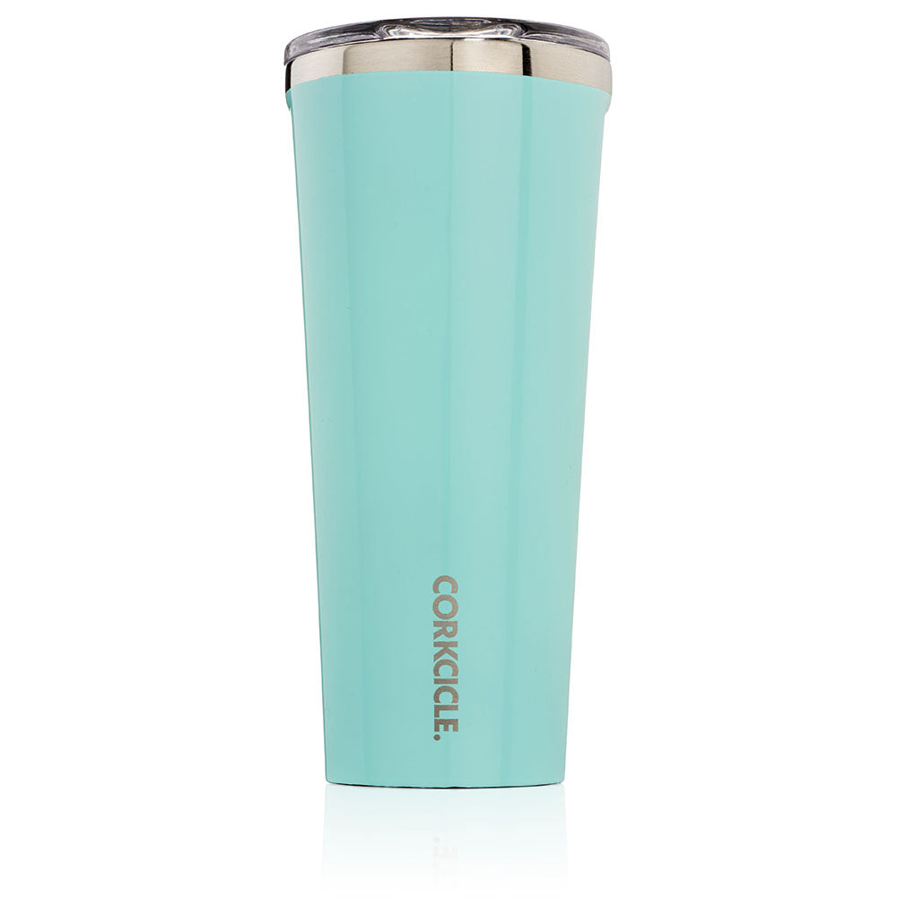 Corkcicle Turquoise 24oz Insulated Tumbler