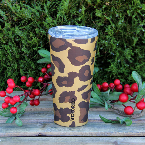 Holiday Gift Idea Corkcicle Luxe Leopard Tumbler