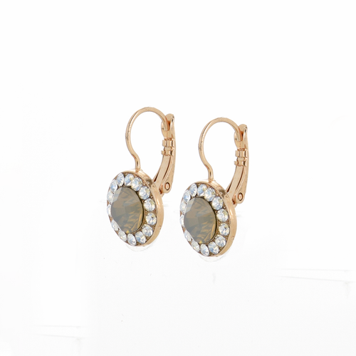 Mariana Peace Leverback Earrings 1129