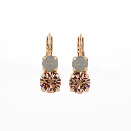Mariana Peace Leverback Earrings 1191