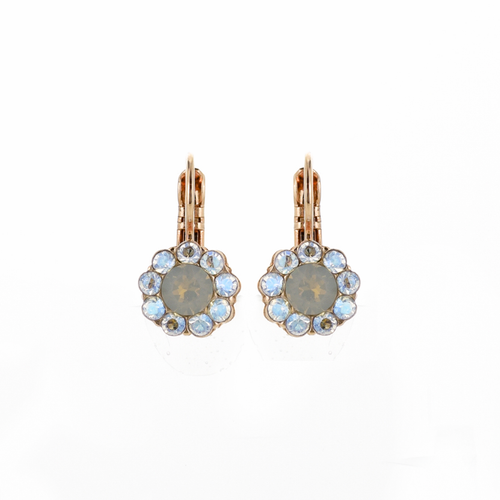 Mariana Peace Leverback Earrings 1379