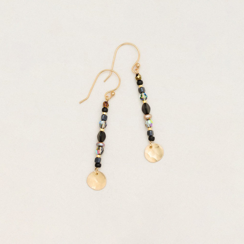 Holly Yashi Equoinox Stick Earrings Black