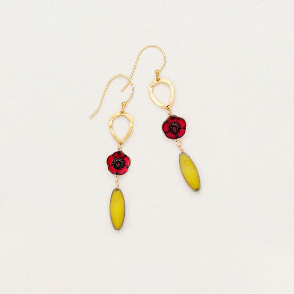Holly Yashi Fandango Drop Earrings