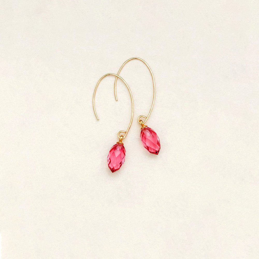 Holly Yashi Petite North Star Earrings Watermelon