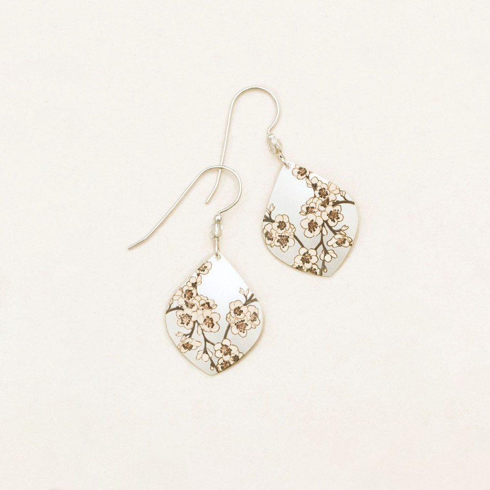 Holly Yashi Spring in Bloom Earrings Silver