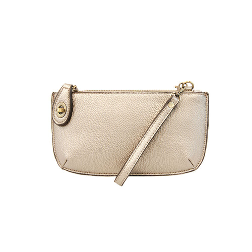 Joy Susan Mini Crossbodies Metallic Pearl