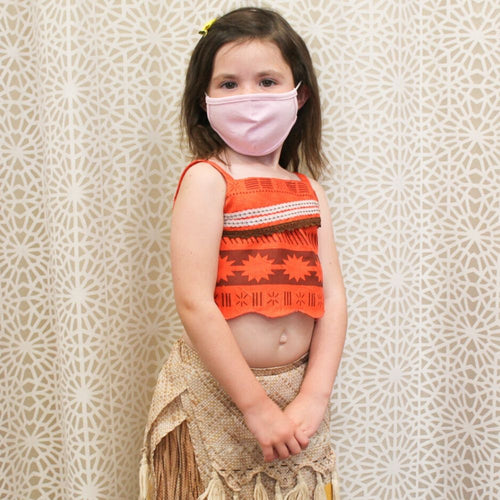 Kids Face Mask - Heather