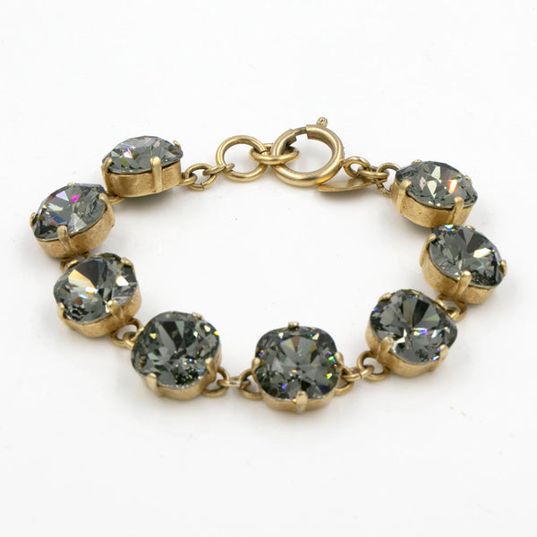 La Vie Parisienne Black Diamond Bracelet in Gold