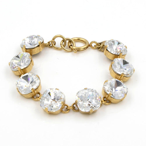 La Vie Parisienne Clear Bracelet in Gold