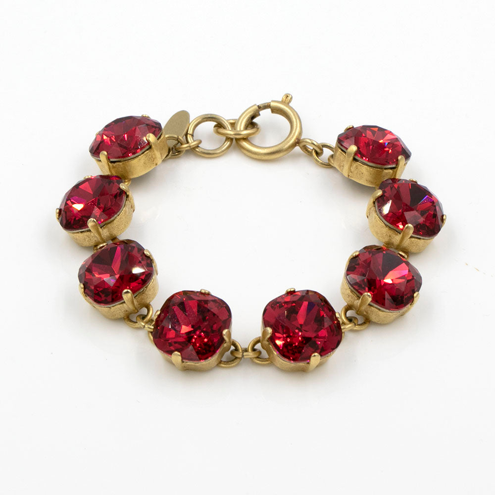 La Vie Parisienne Crimson Bracelet in Gold