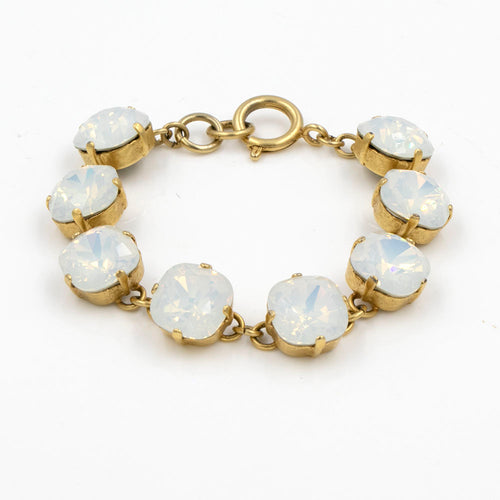 La Vie Parisienne White Opal Bracelet in Gold