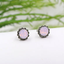 La Vie Parisienne Flower Stud Earrings
