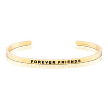 Mantraband Forever Friends Bracelet ... Gold